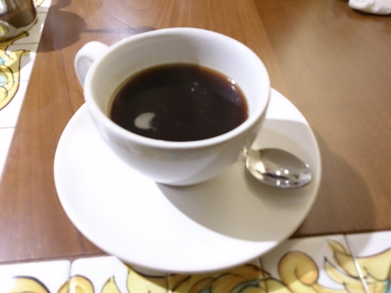最後はコーヒーで♪