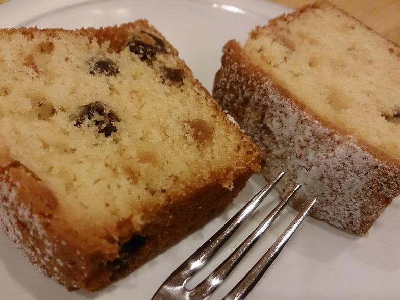 最近、自家製のパウンドケーキが登場!これが美味しいんです!