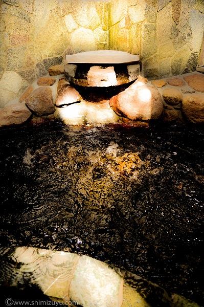 黒湯露天風呂